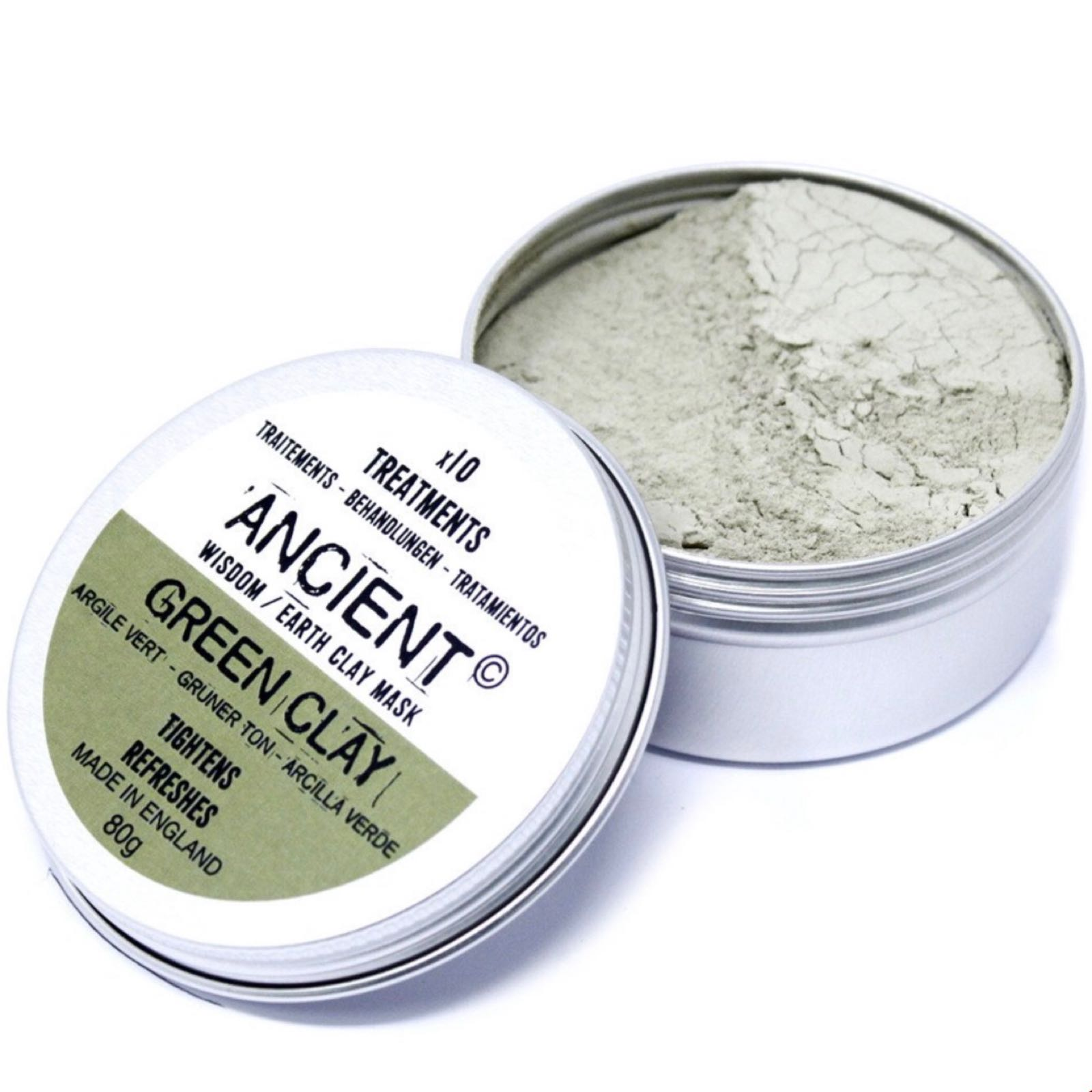 'Green Clay' Face Mask