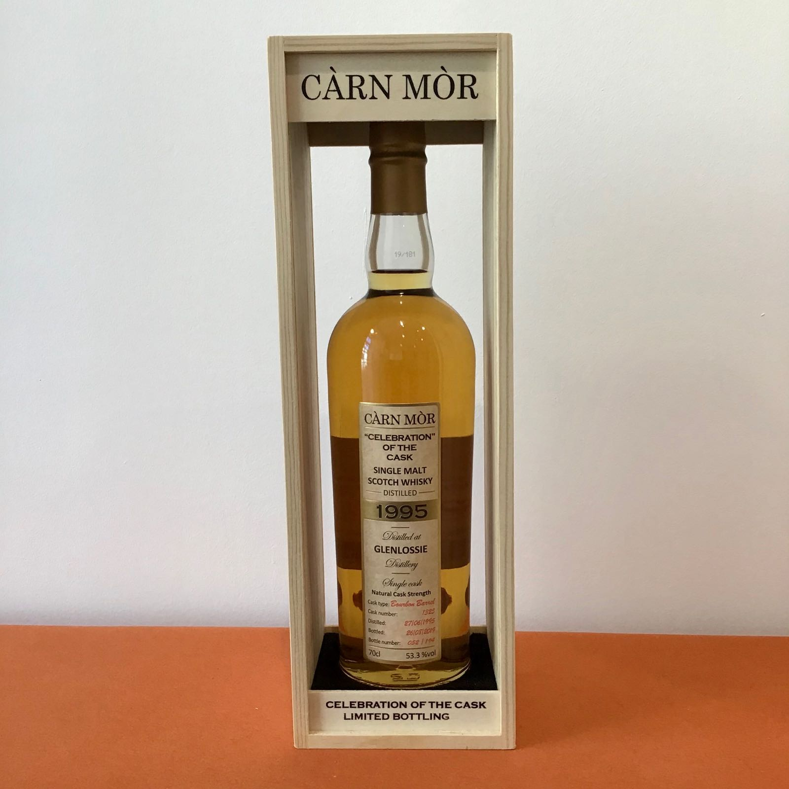Carn Mor Celebration of the Cask: Glenlossie 1995