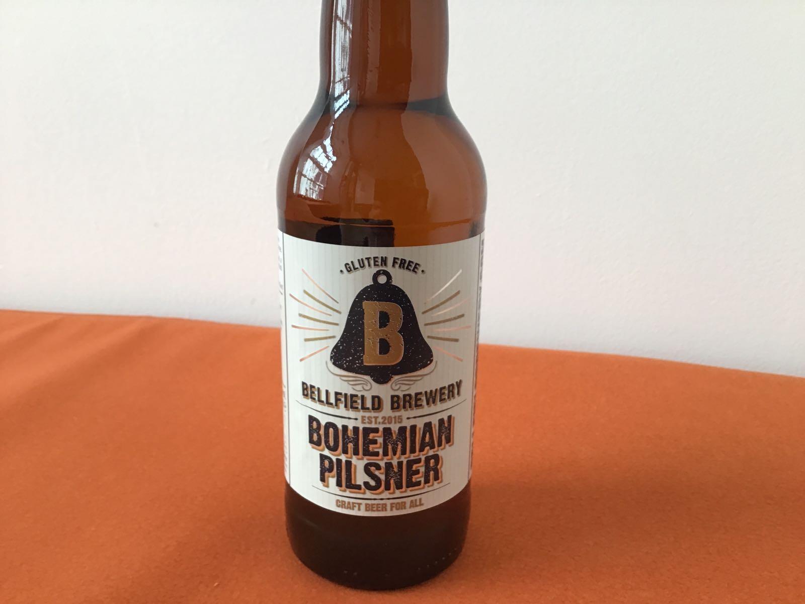 Bellfield Brewery: Bohemian Pilsner Gluten Free