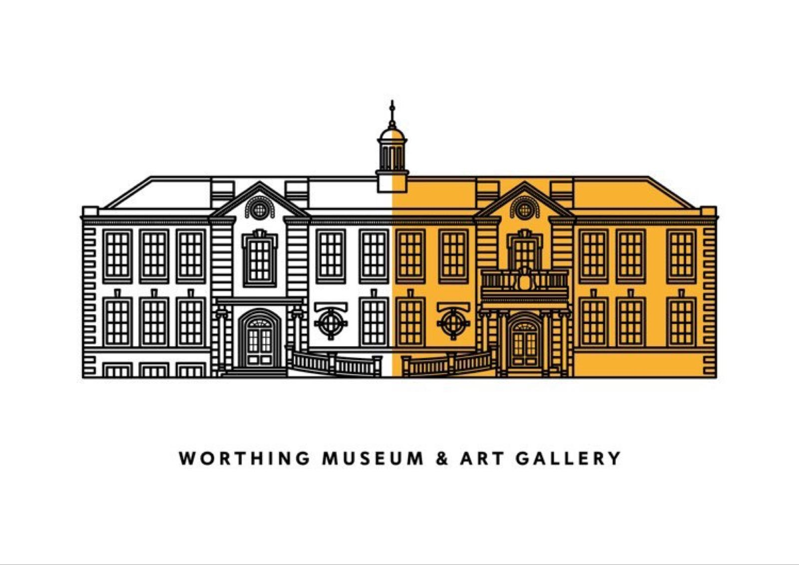 Hannah Adams Designs - Worthing Museum & Art Gallery Print