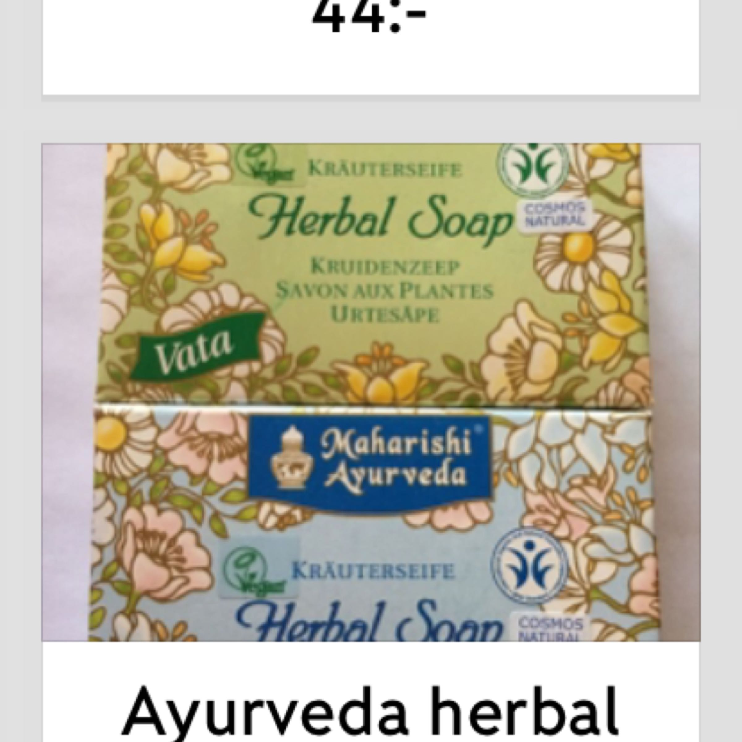 Ayurveda herbal soap