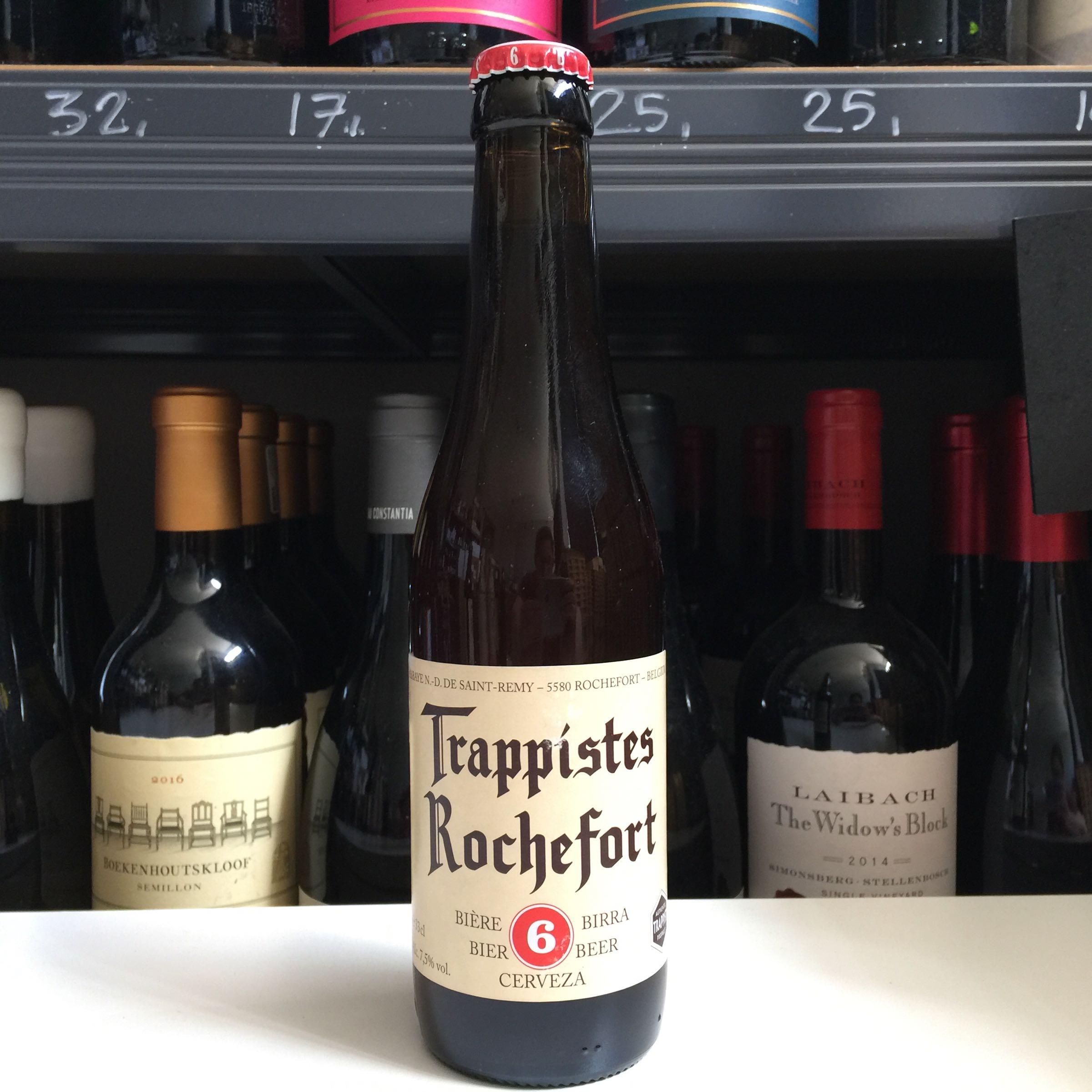 Rochefort 6 Belgium Beer 33cl 7.5% ABV