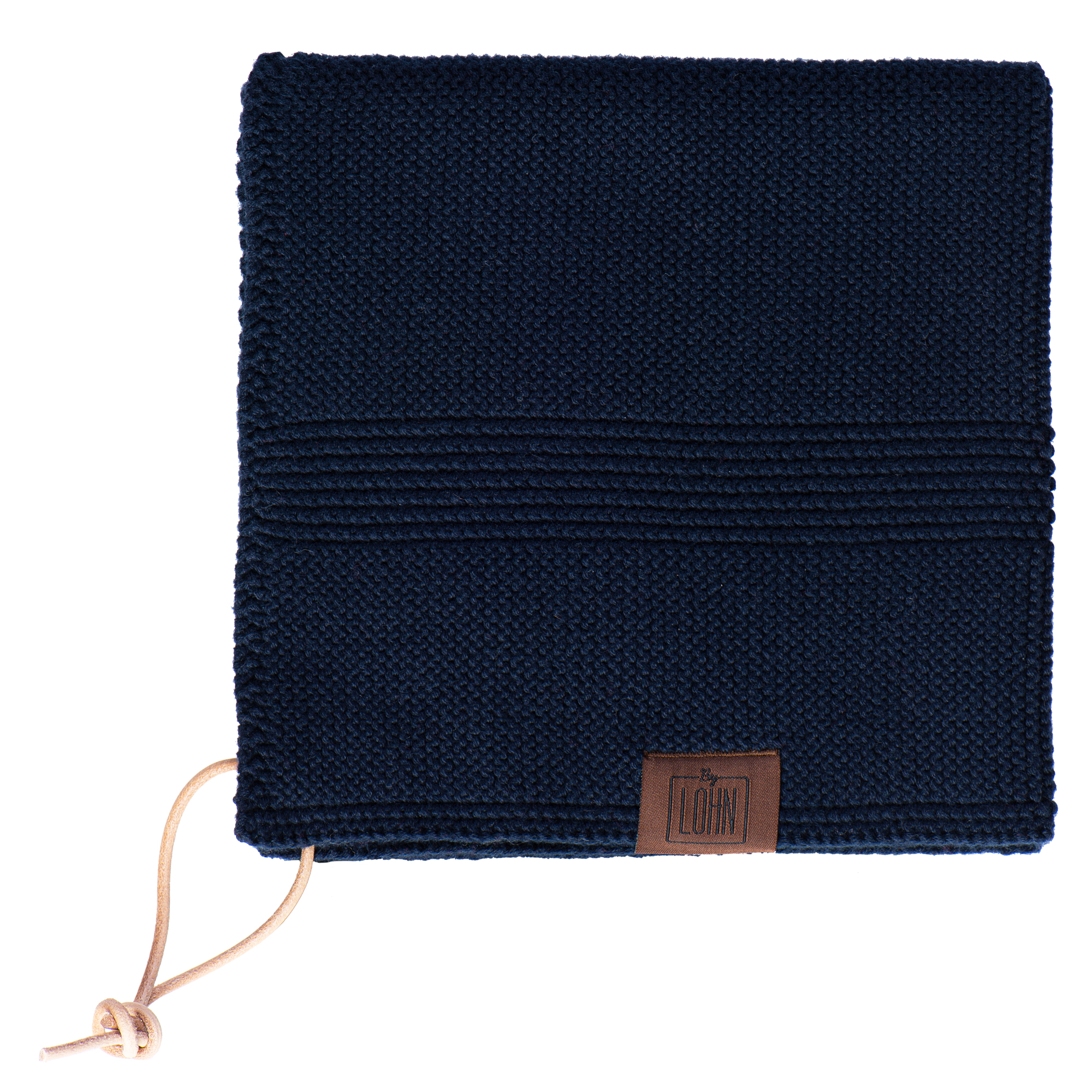 By LOHN – All round towel 35 x 35 cm, Navy