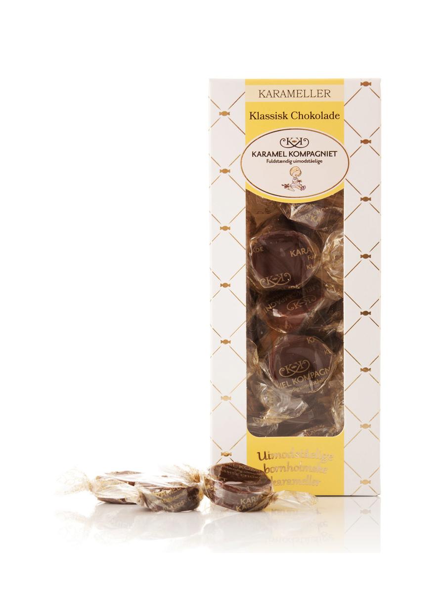 Karamel Kompagniet - Klassisk Chokolade Karameller