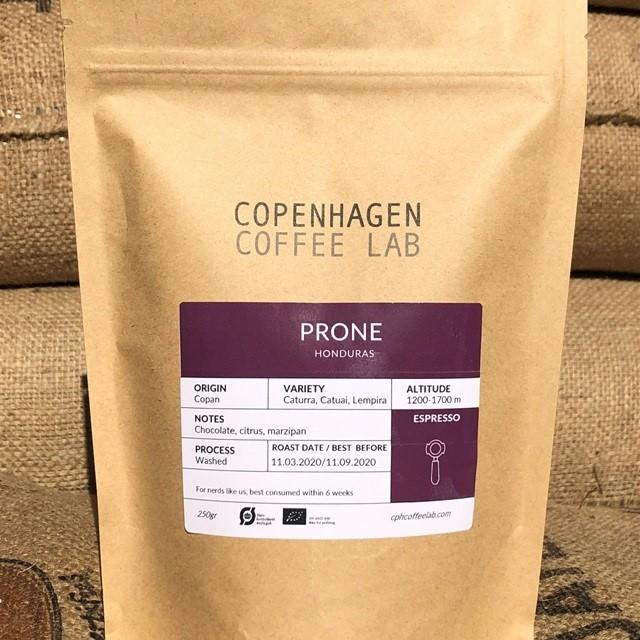Copenhagen Coffee Lab - Prone, Honduras espresso