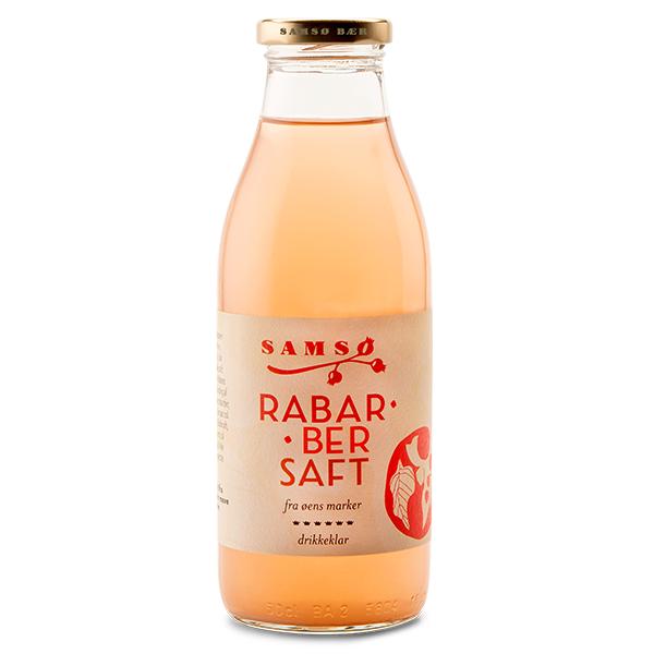 Samsø Saft - Rabarber