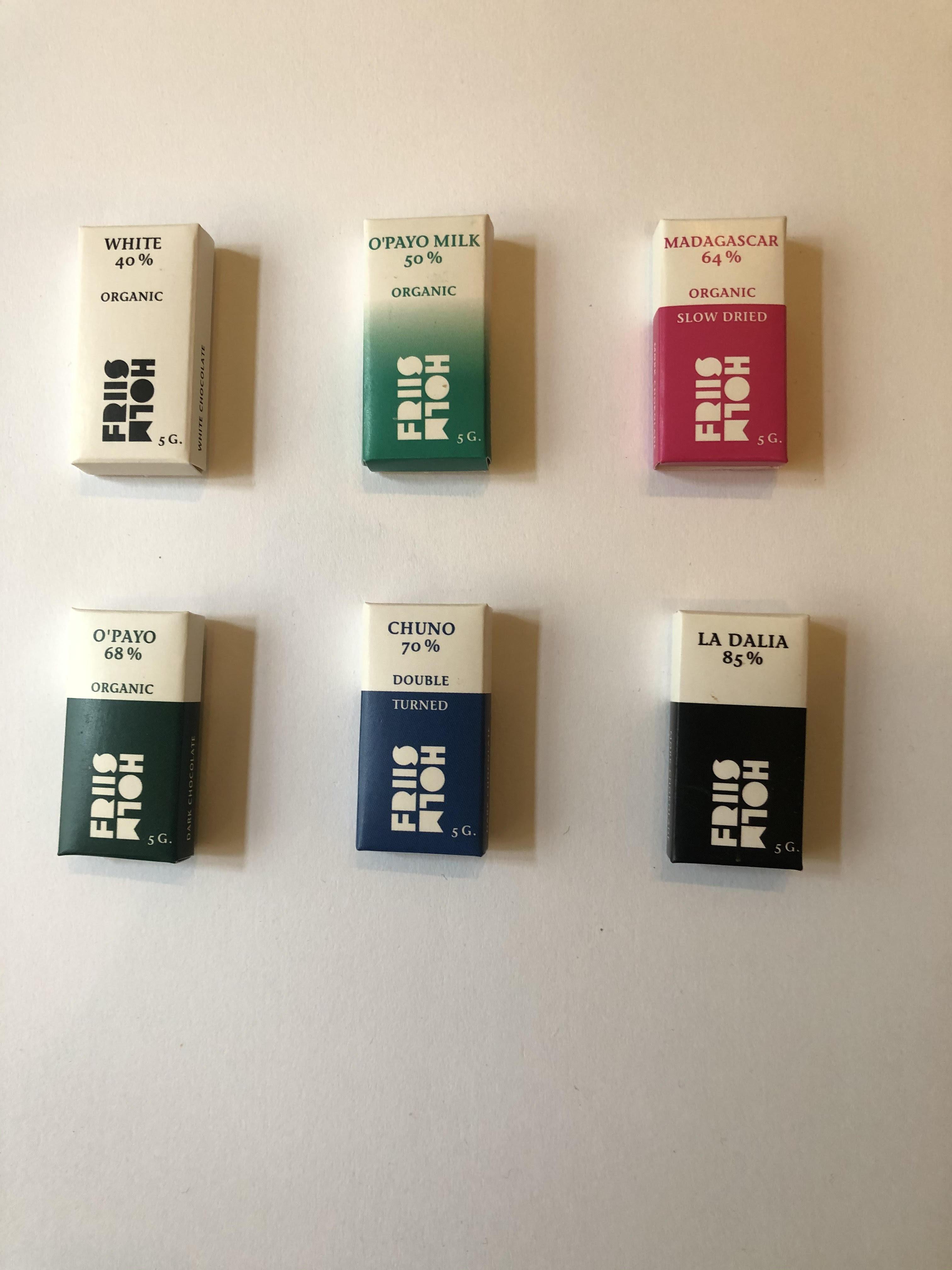 Friis-Holm - 5 gram chokolade