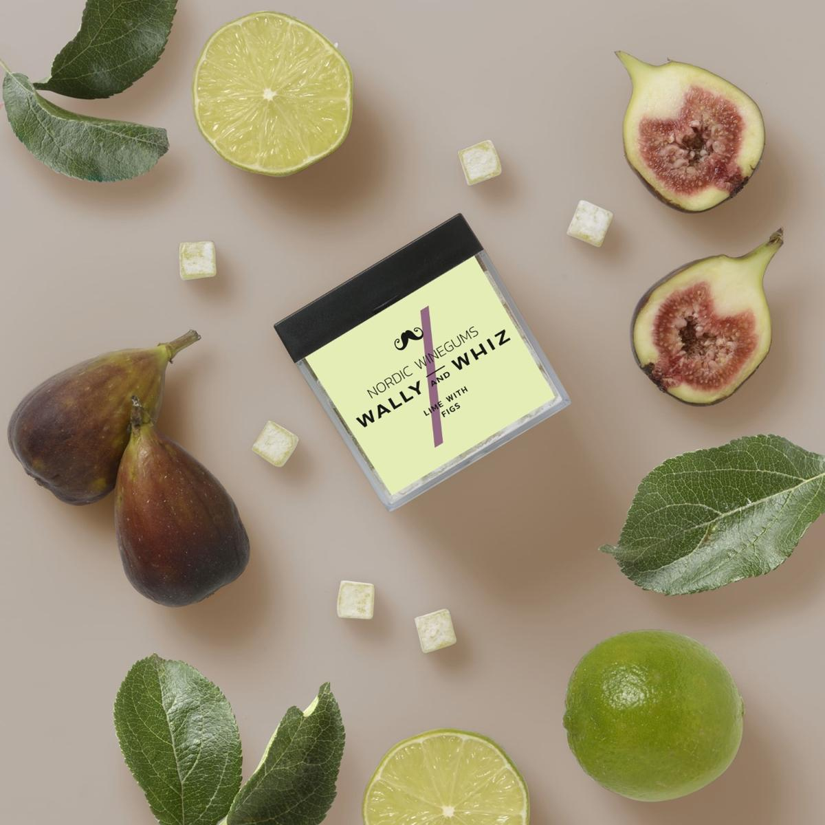 Wally and Whiz - CUBE Lime w. fig