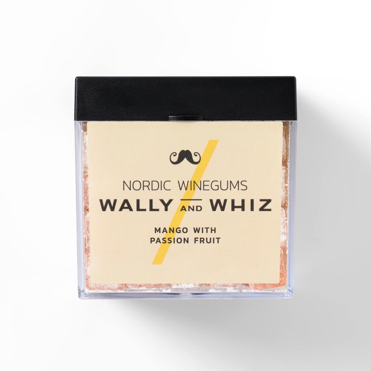 Wally and Whiz - CUBE Mango w. Passionfruit