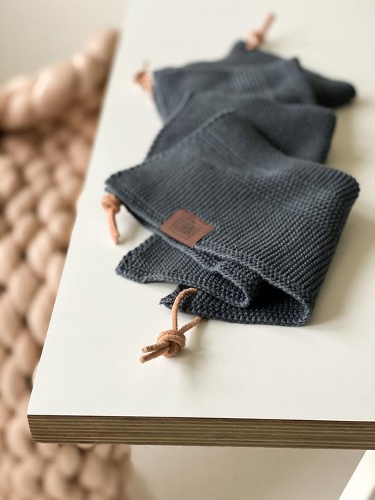 By LOHN – All round cloth 25 x 25 cm, Dark Grey