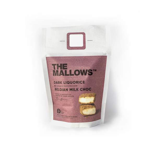 The Mallows - Dark Liquorice 90 gram