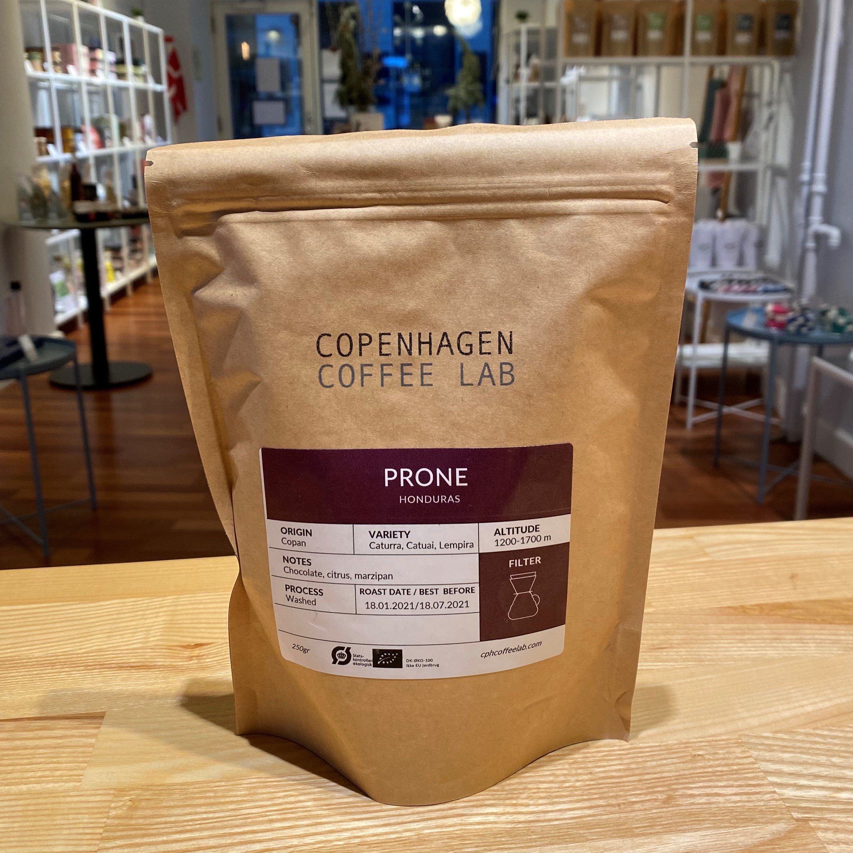Copenhagen Coffee Lab - Prone, Honduras