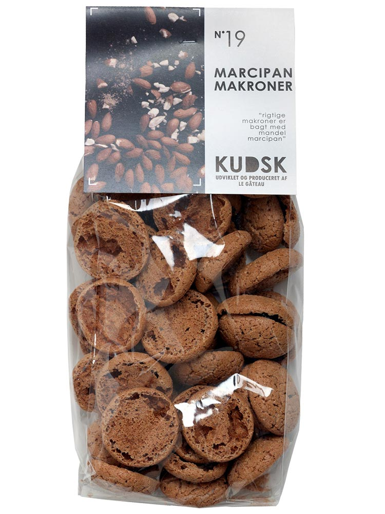 KUDSK - Småkager, Marcipan makroner