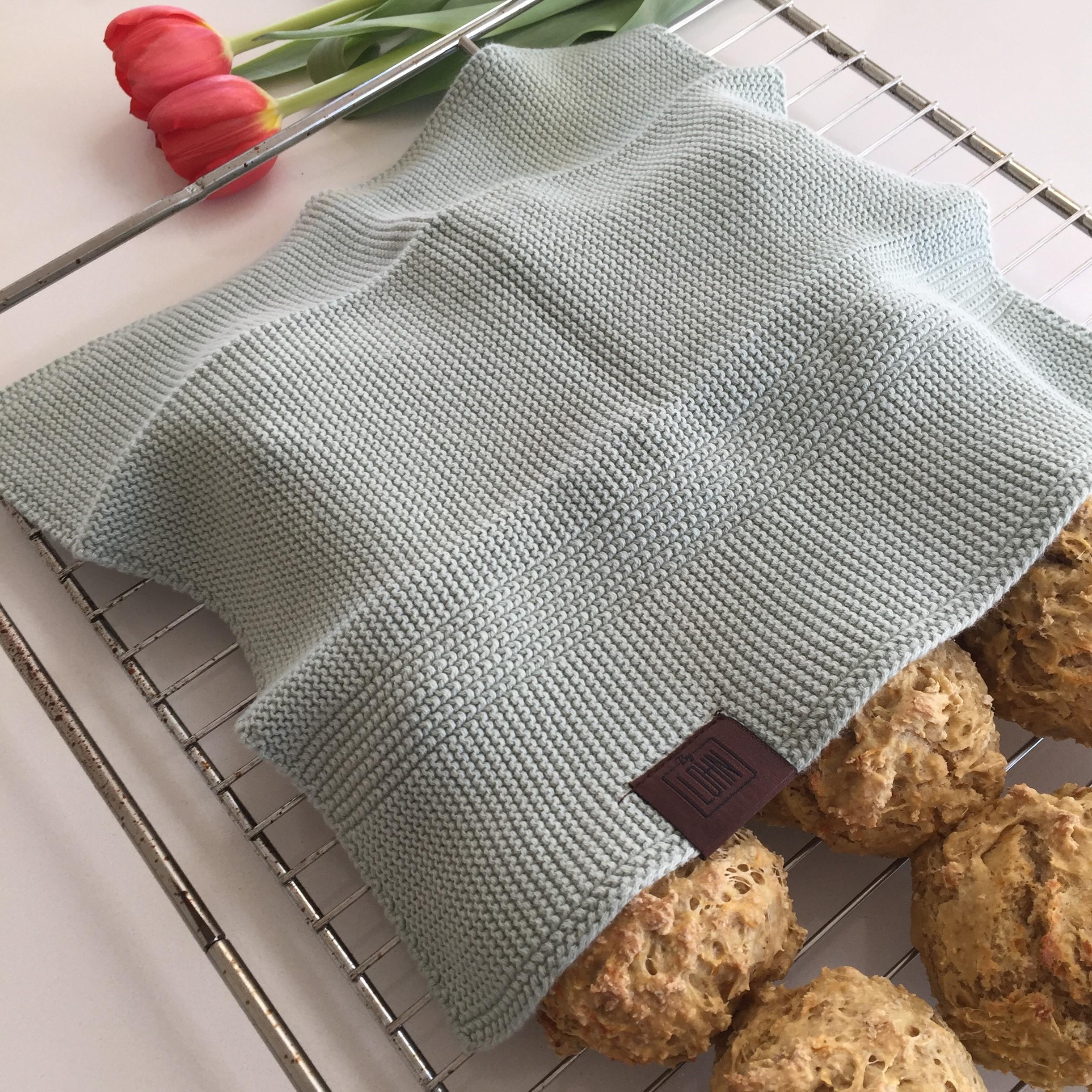 By LOHN – 2 stk Towel 35 x 50, Light Mint