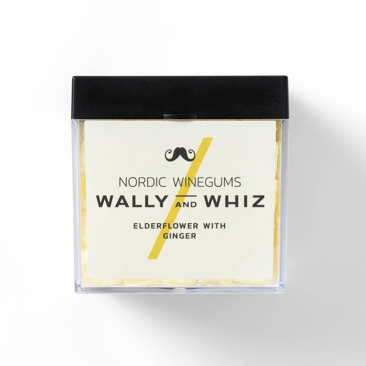 Wally and Whiz - CUBE Elderflower w. Ginger