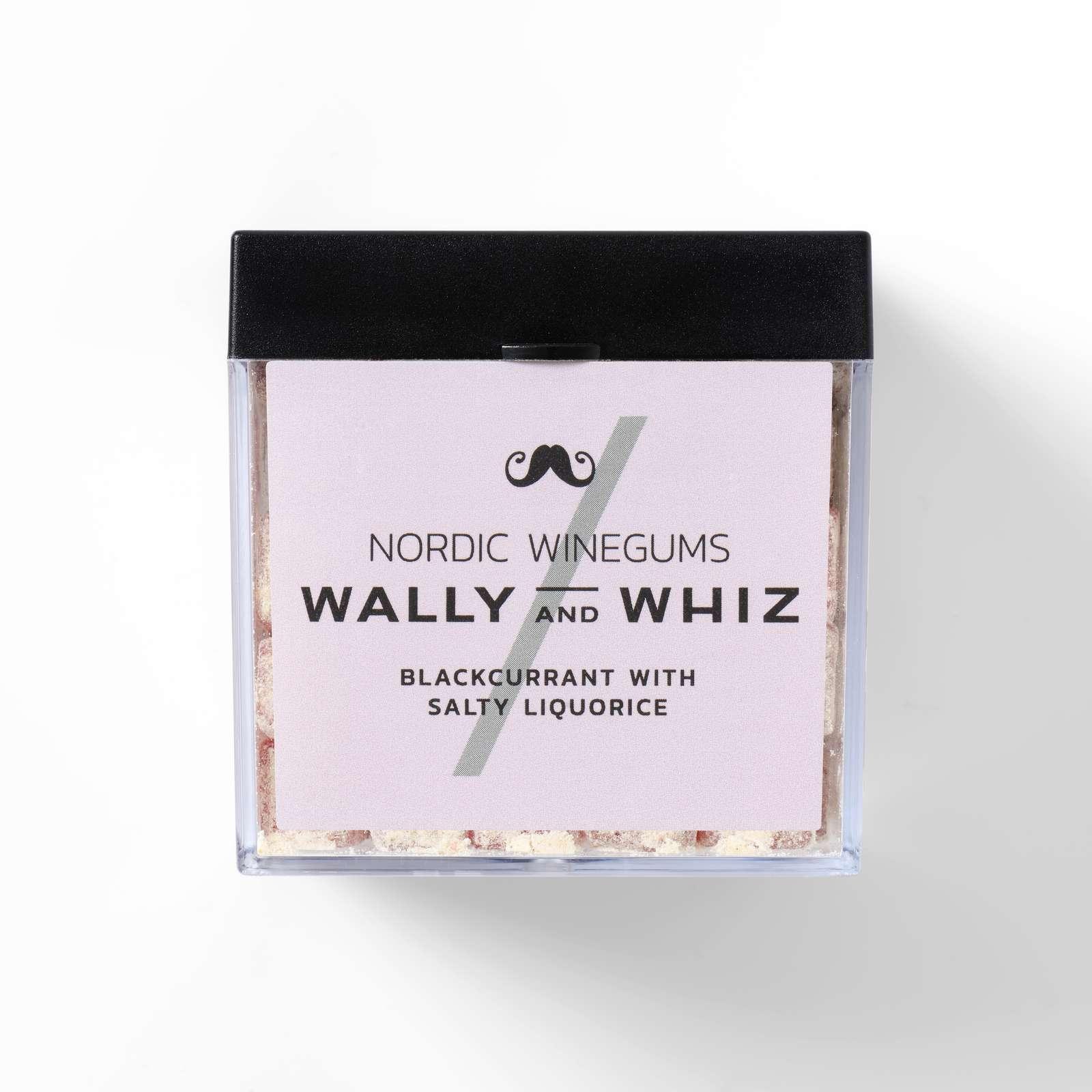 Wally and Whiz - CUBE Blackcurrant w. Liquorice