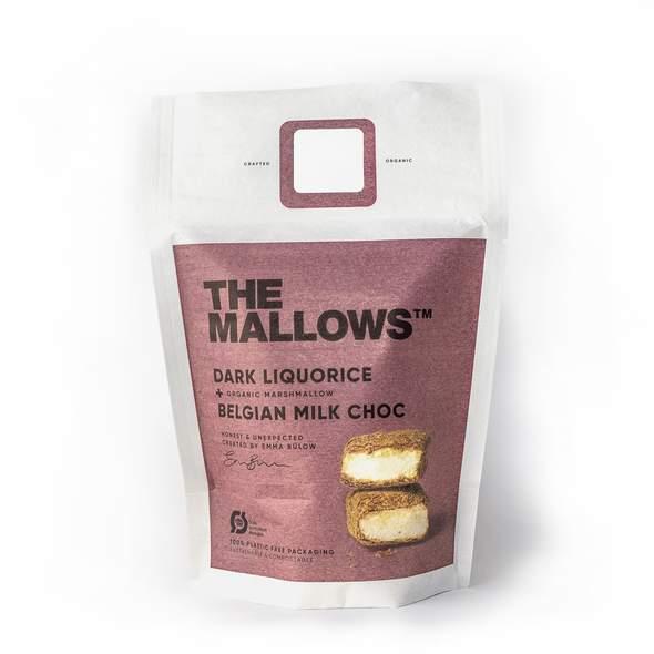 The Mallows - Dark Liquorice 150 gram