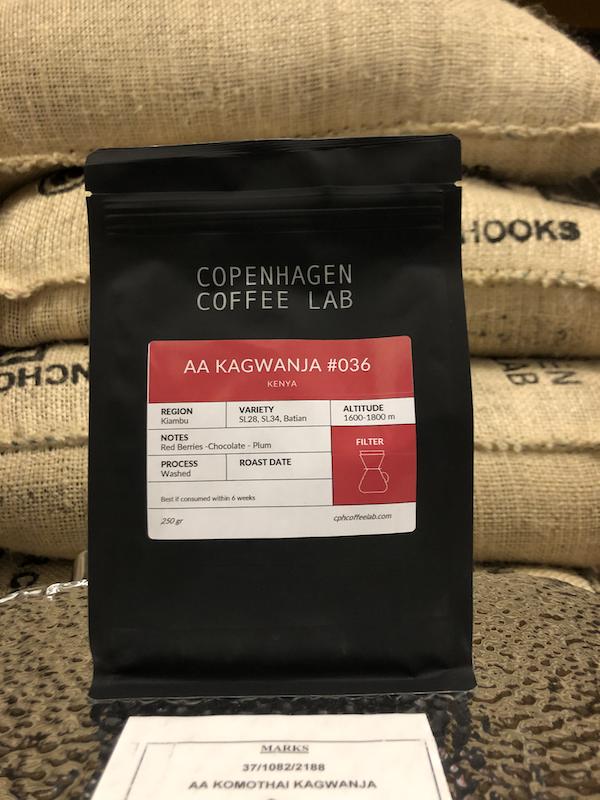 Cph Coffee Lab - AA Kagwanja, Kenya