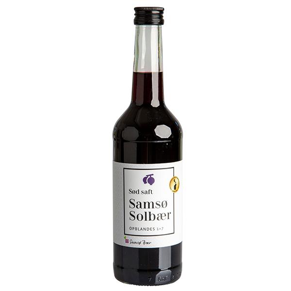 Samsø Saft - Solbær, koncentreret