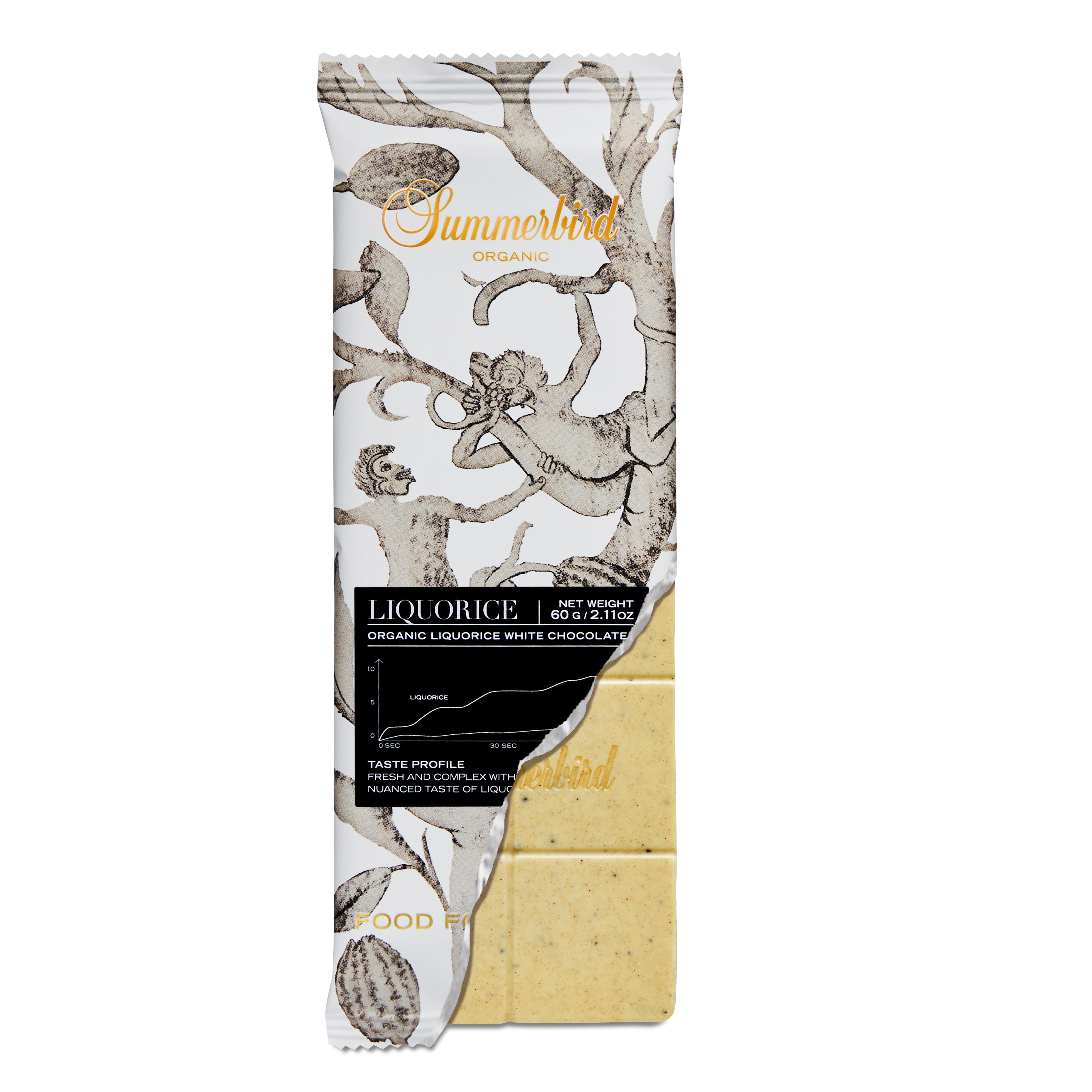 Summerbird - Chokoladebar liquorice