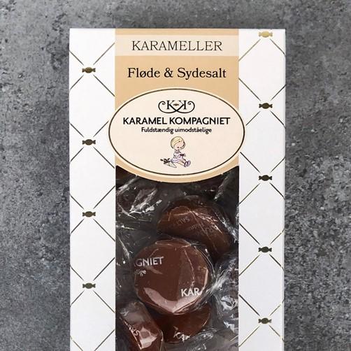 Karamel Kompagniet - Fløde og Sydesalt Karameller