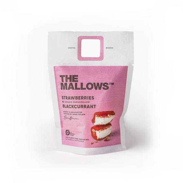 The Mallows - Strawberry + Blackcurrant 80 gram