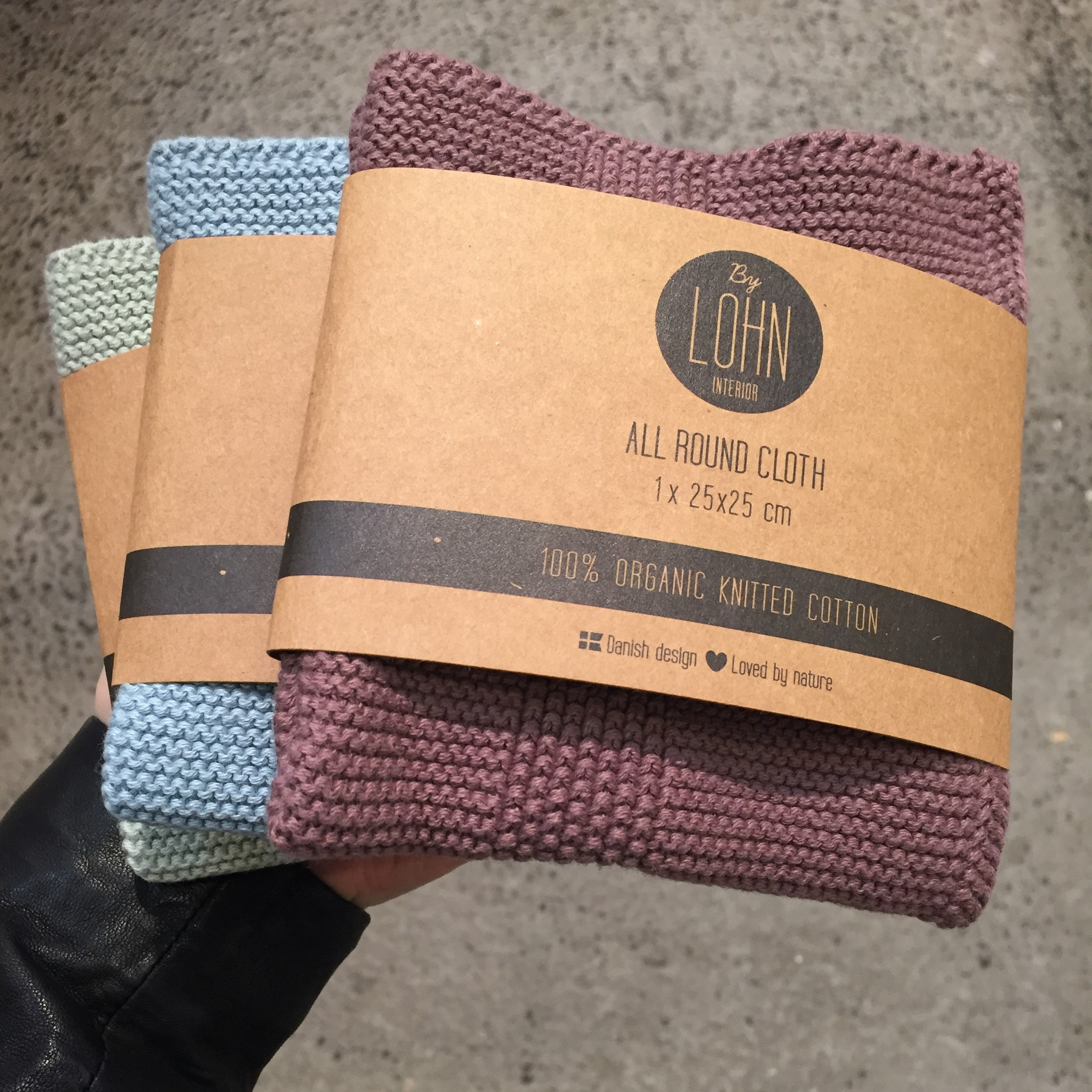 by LOHN - All round cloth 25 x 25, 1 pack