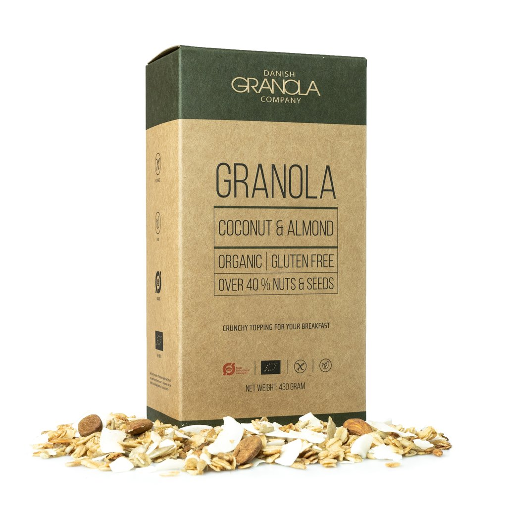 DANISH GRANOLA - Kokos & Mandel