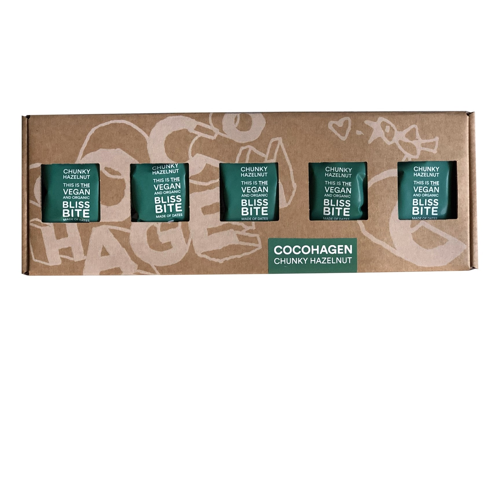 COCOHAGEN - Gaveæske Chunky Hazelnut
