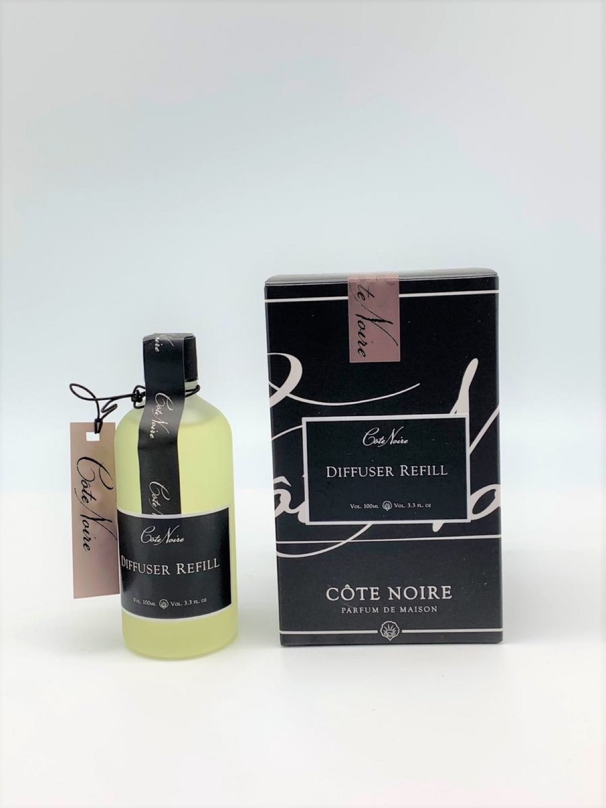 Cote Noire French Morning Tea Reed Diffuser Refill 100ml