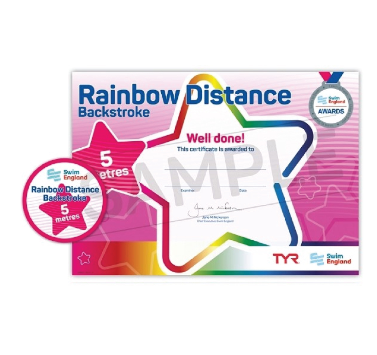 Rainbow Style and Distance Awards