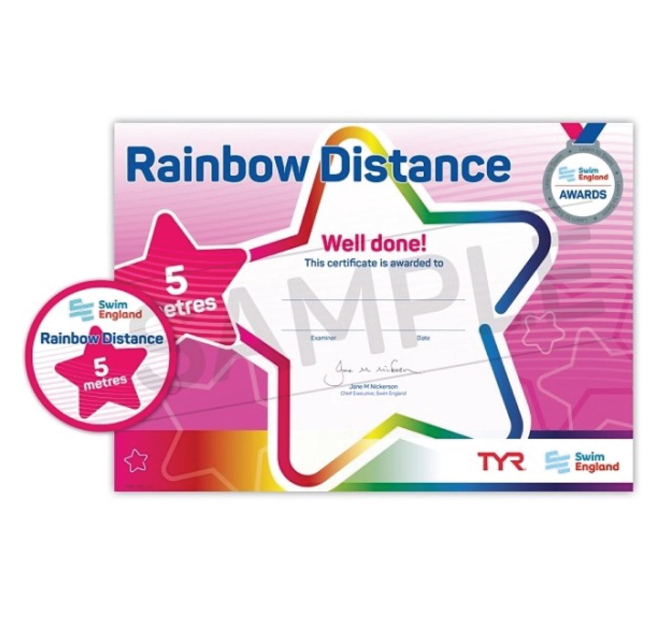 Rainbow Distance Awards