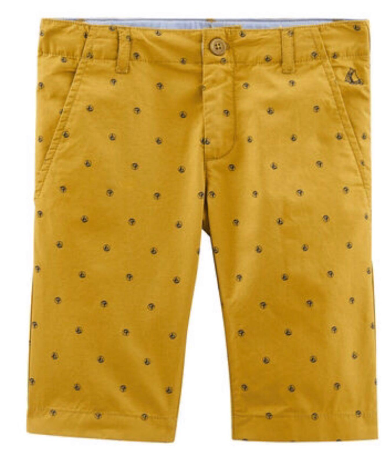 Petit Bateau Mustard Bermuda Shorts