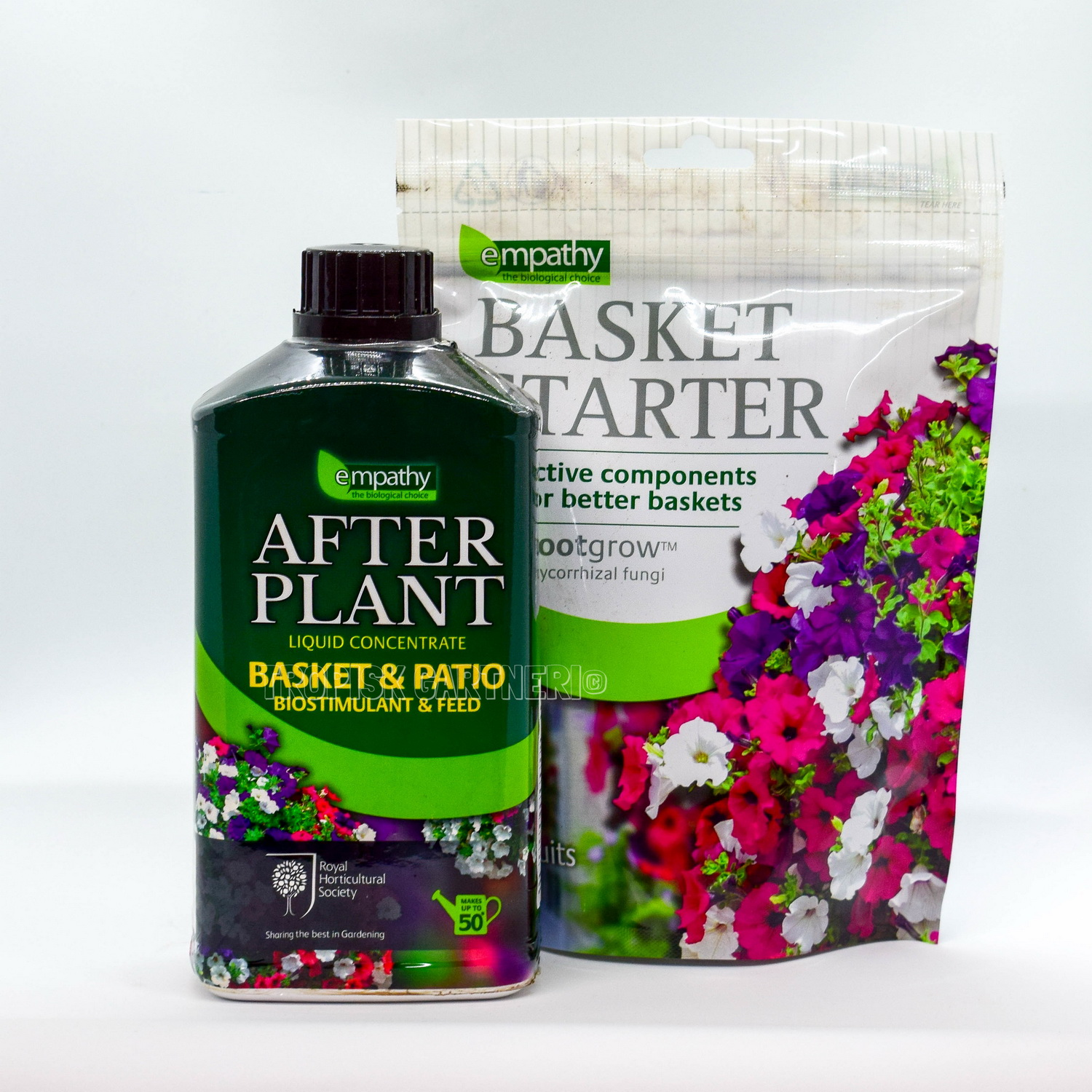 BASKET STARTER med mycorrhizal fungi + After Plant BASKET & PATIO