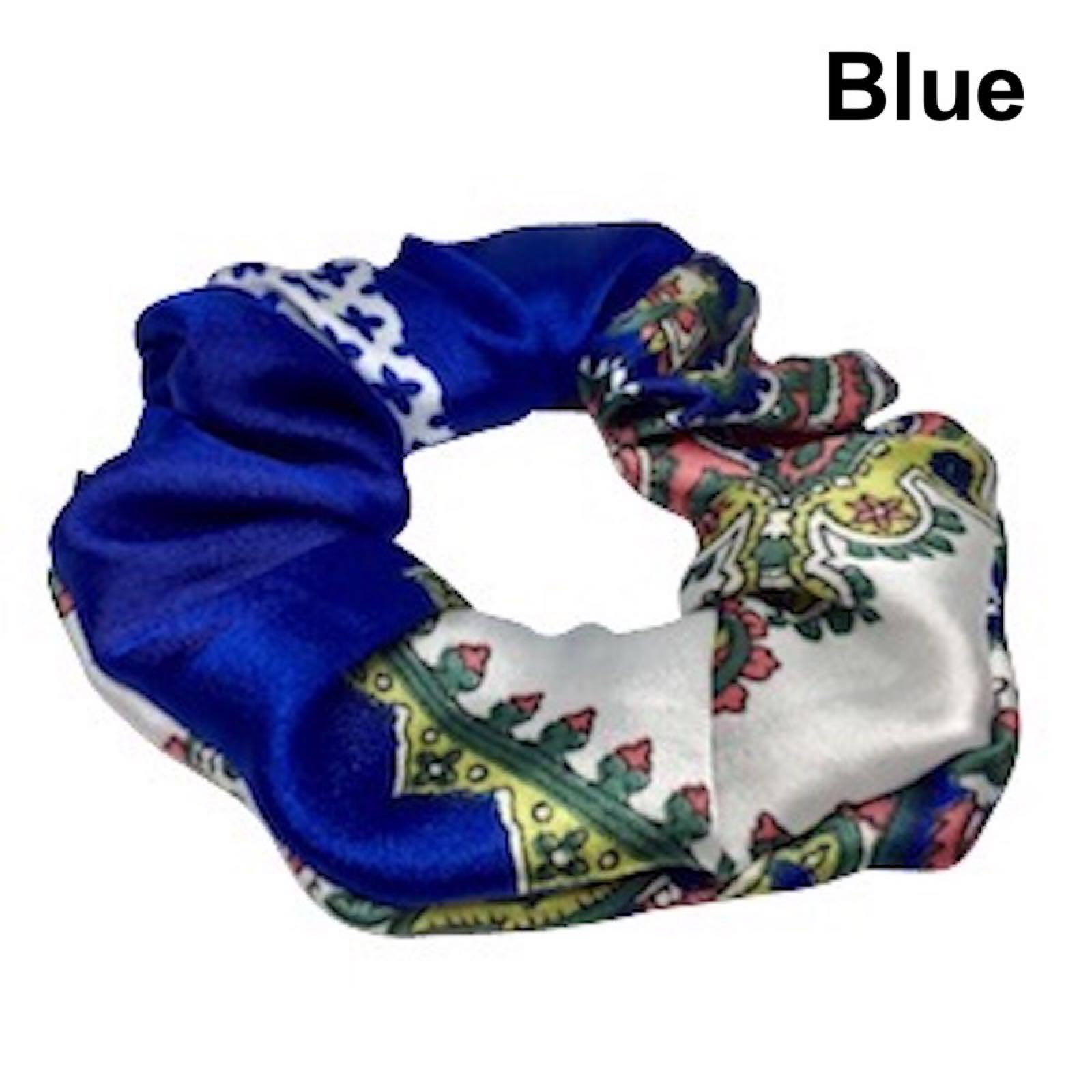 Scrunchie, Blue