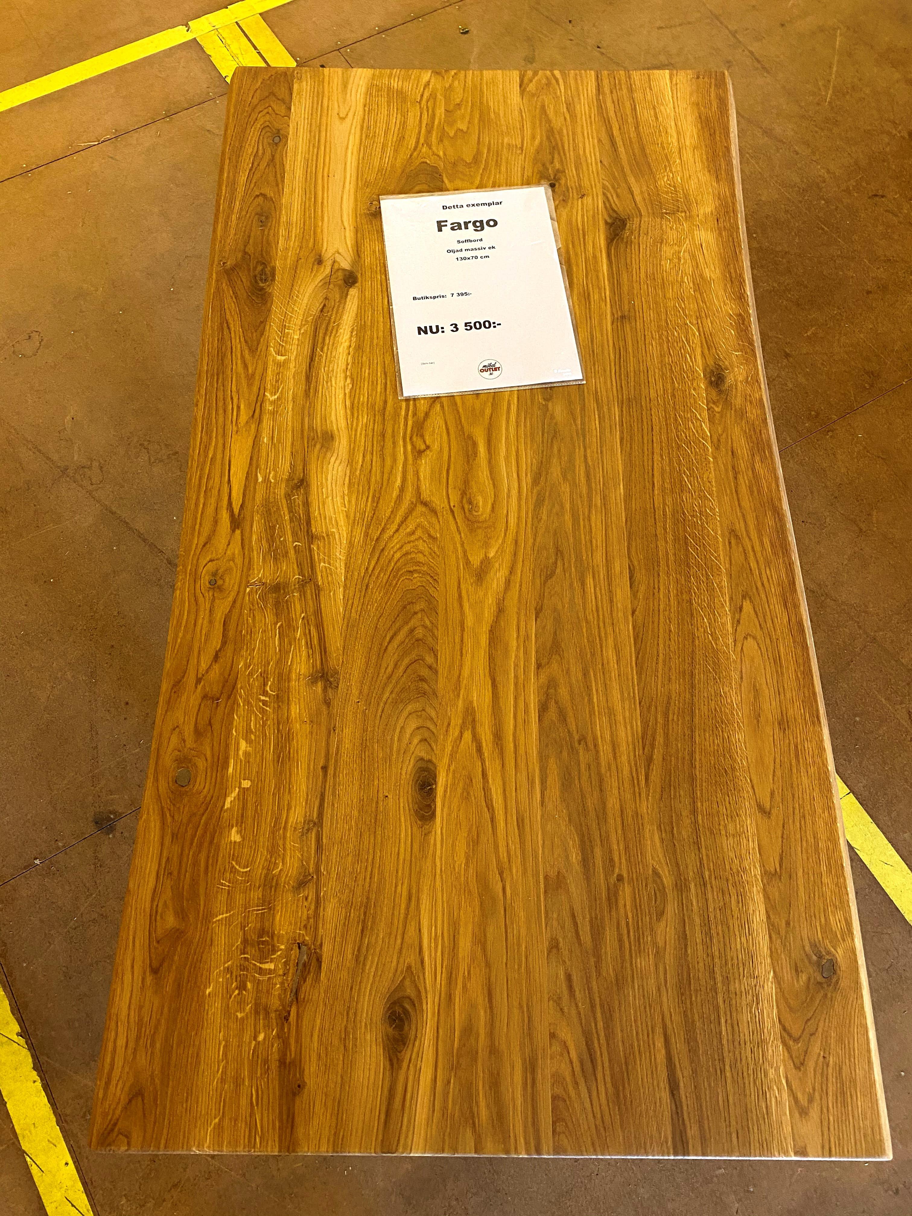 Fargo soffbord 130x70cm