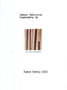 Fabricius, Jesper. Kunsthæfte 36