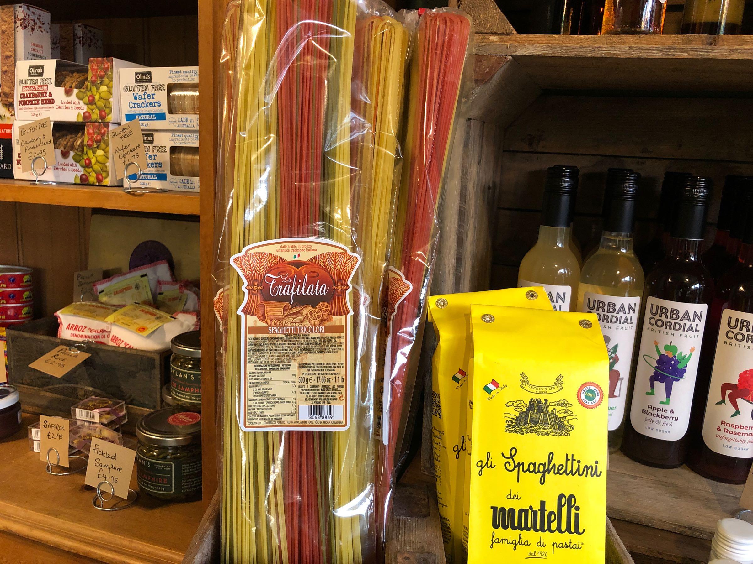 Spaghetti Lunghi 3 Colori