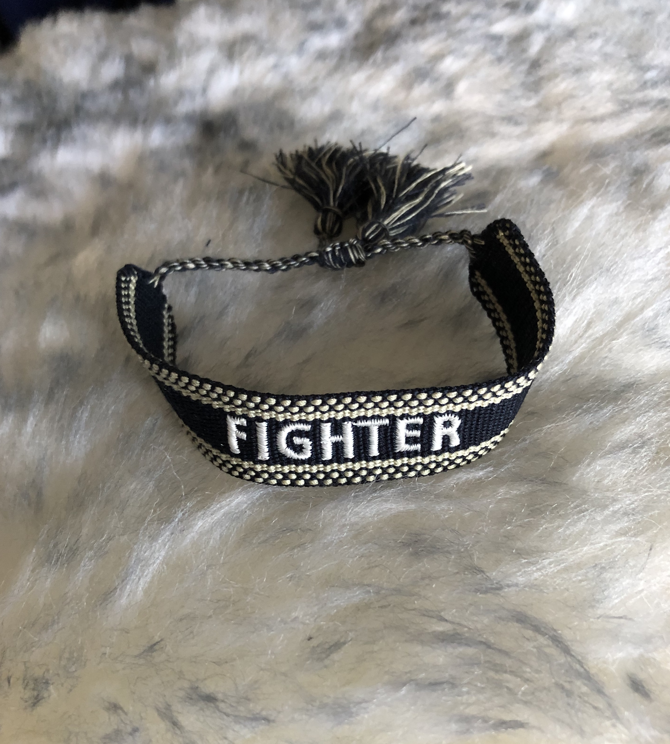"Canvasarmband ""Fighter"" REA"