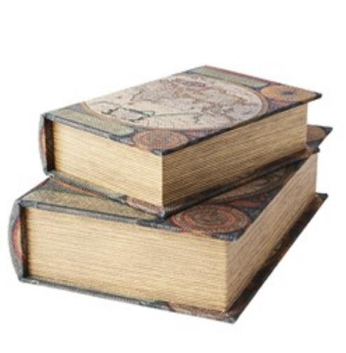 Bokgömma liten världskarta
