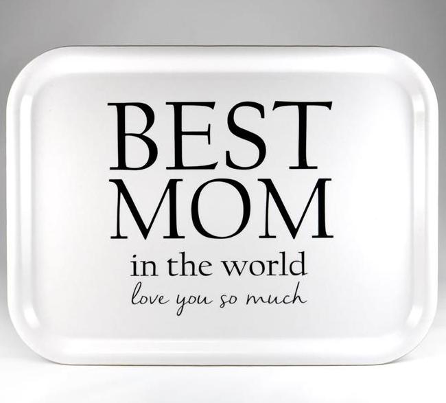 """Bricka """"Best mom"""""""