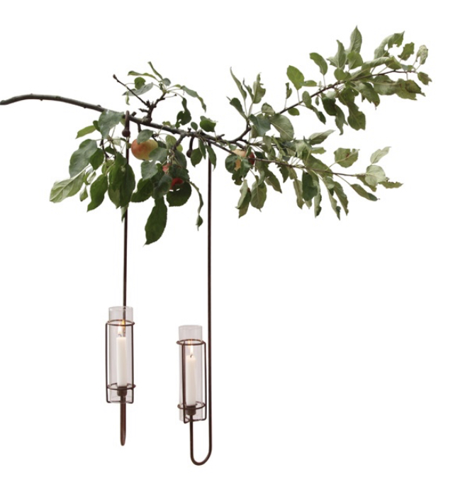 Eldvakt ljusstake i träd