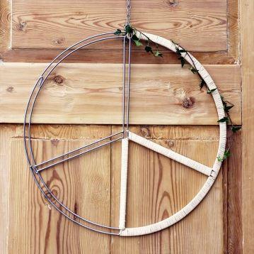 Peace hängande stor (50 cm)
