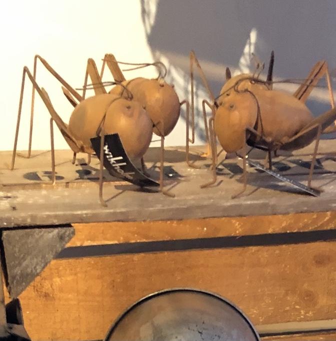 Gräshoppa rostig