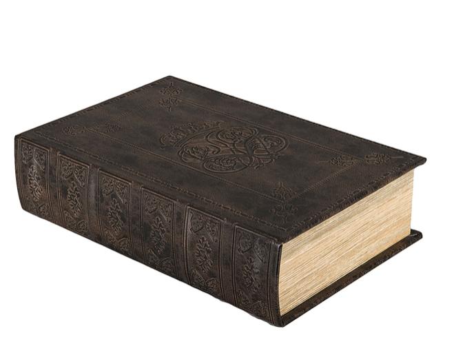 Bokgömma i läder (stor) REA