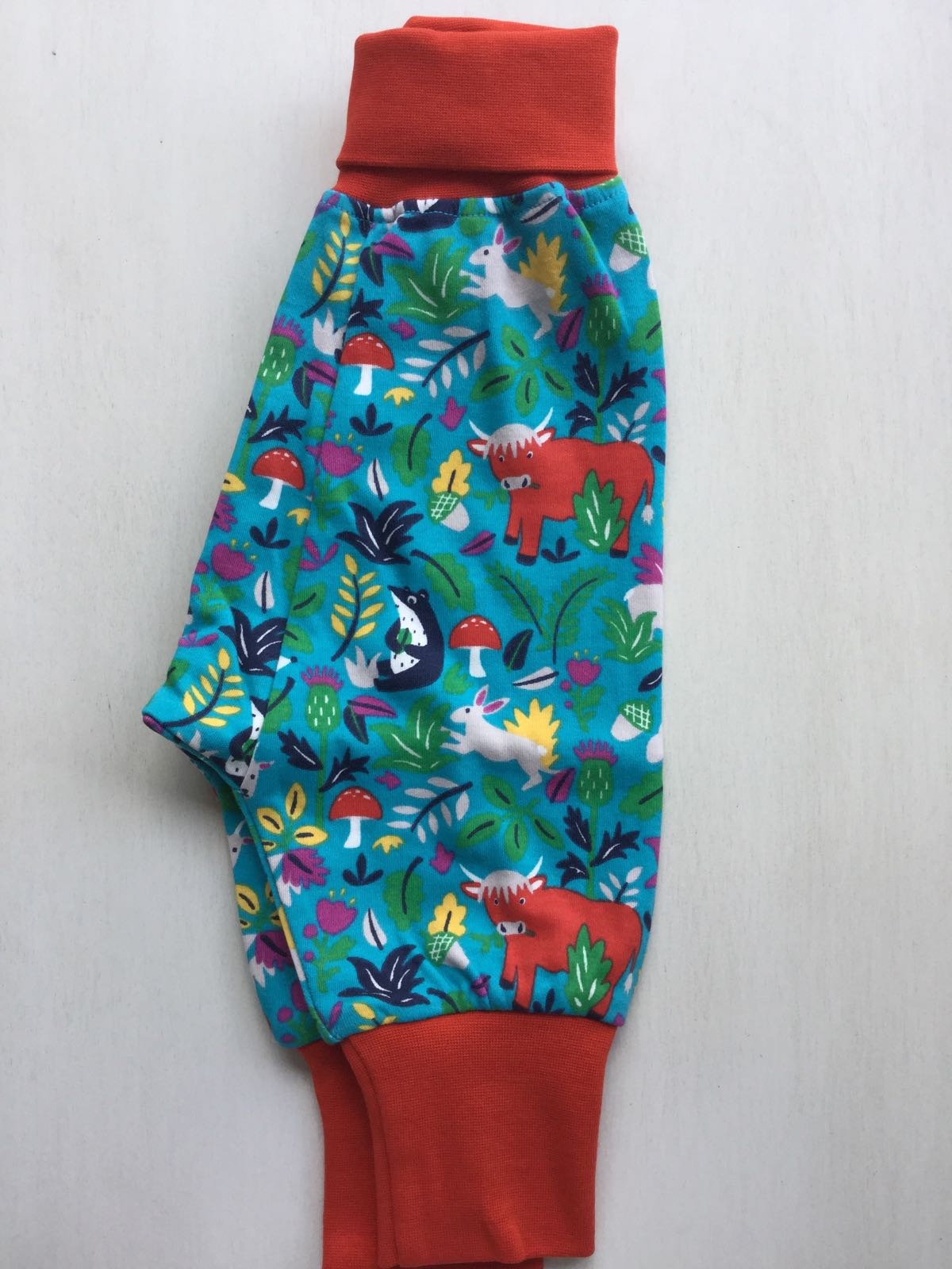 NEW - Frugi - Parsnip pants - Woodland Critters