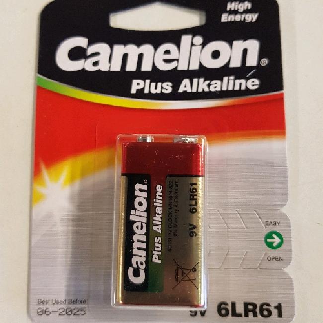 Batteri 9 v. - Camelion