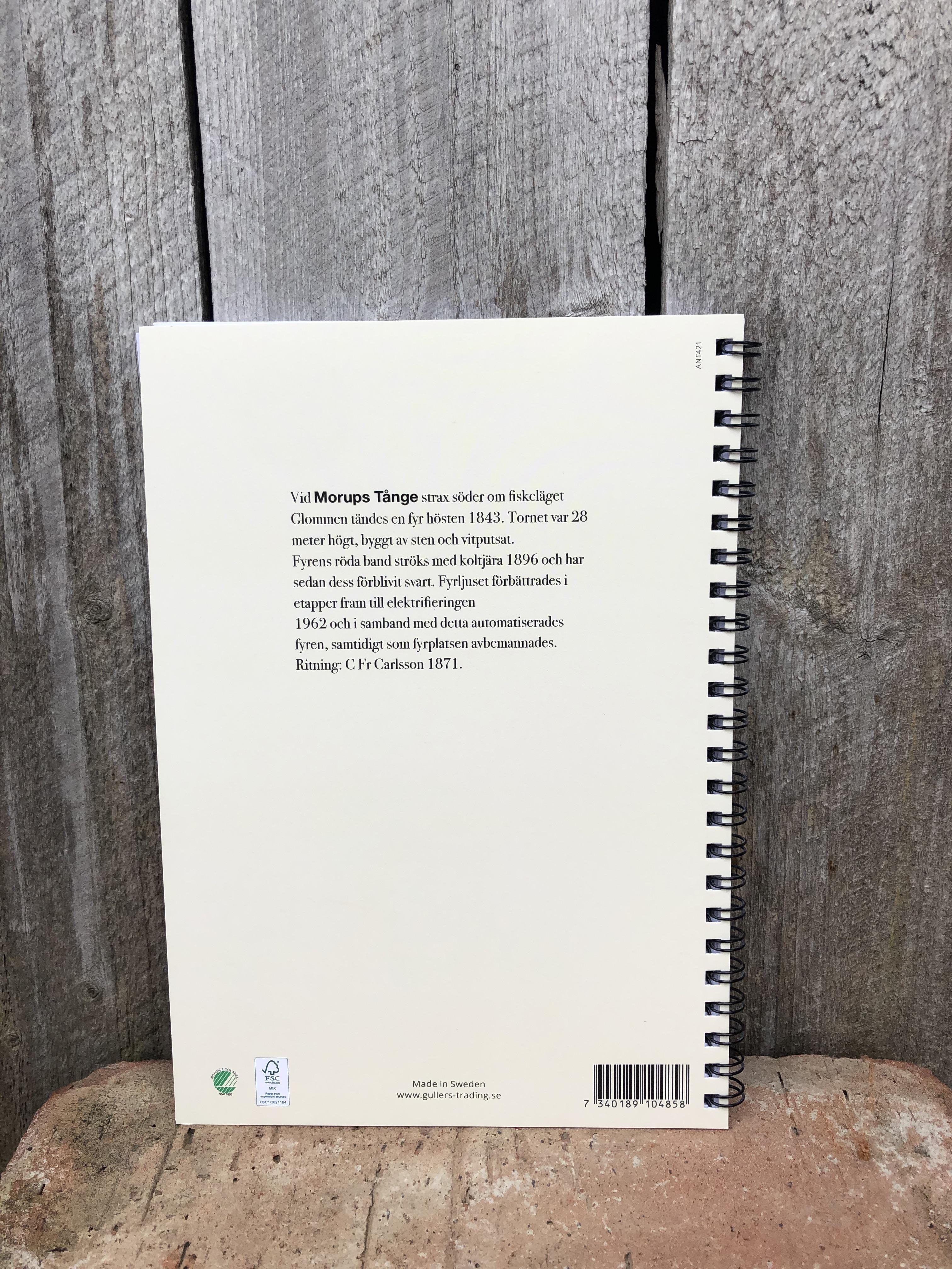 Skrivbok Morups Tånge