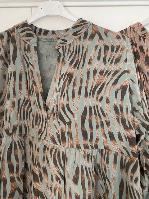 Zebraklänning/tunika