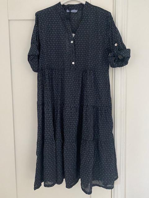 Mönstrad klänning, RnR